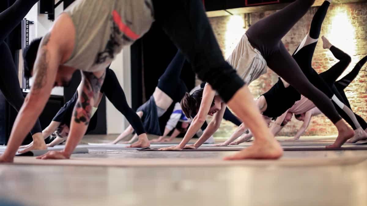 yoga flow mit beats