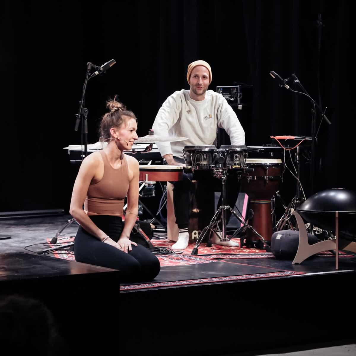 yoga mit musik